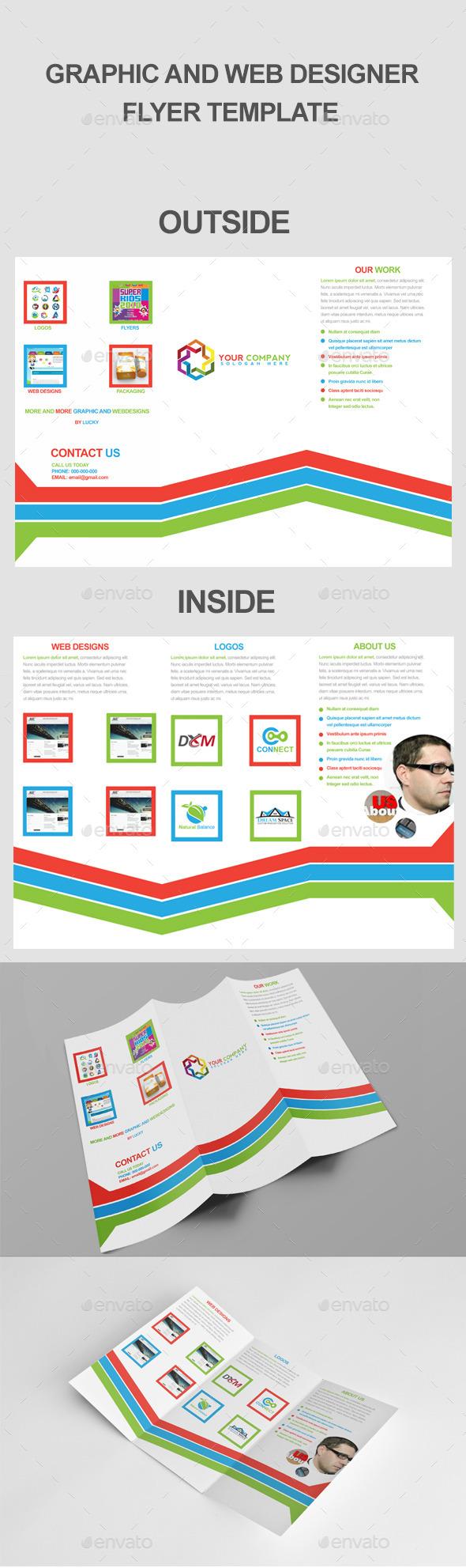Graphic & Web Designer - Portfolio Brochures