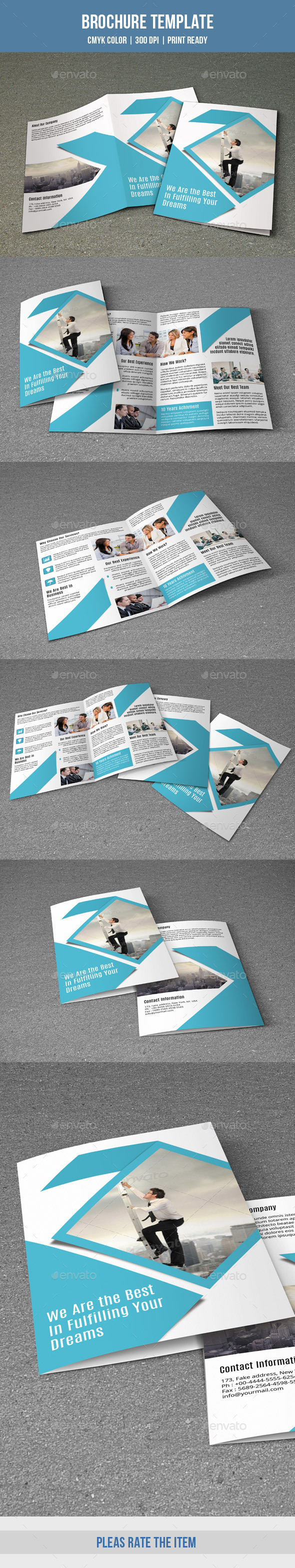 Corporate Bifold Brochure-V159 - Corporate Brochures
