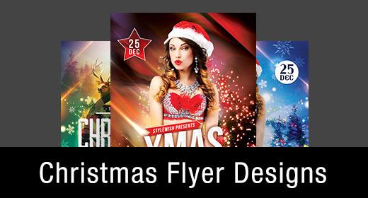 * Christmas Flyer Templates