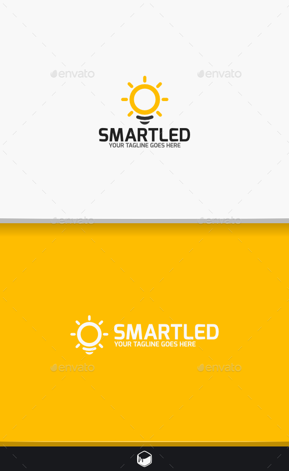 Smart Led Logo - Objects Logo Templates
