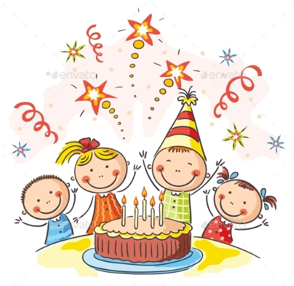 Kids Birthday Party - Birthdays Seasons/Holidays