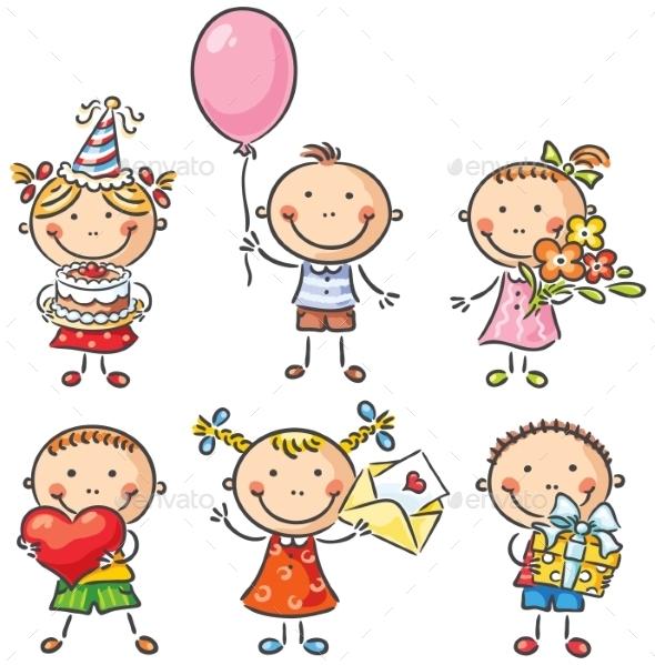 Birthday Kids - Birthdays Seasons/Holidays