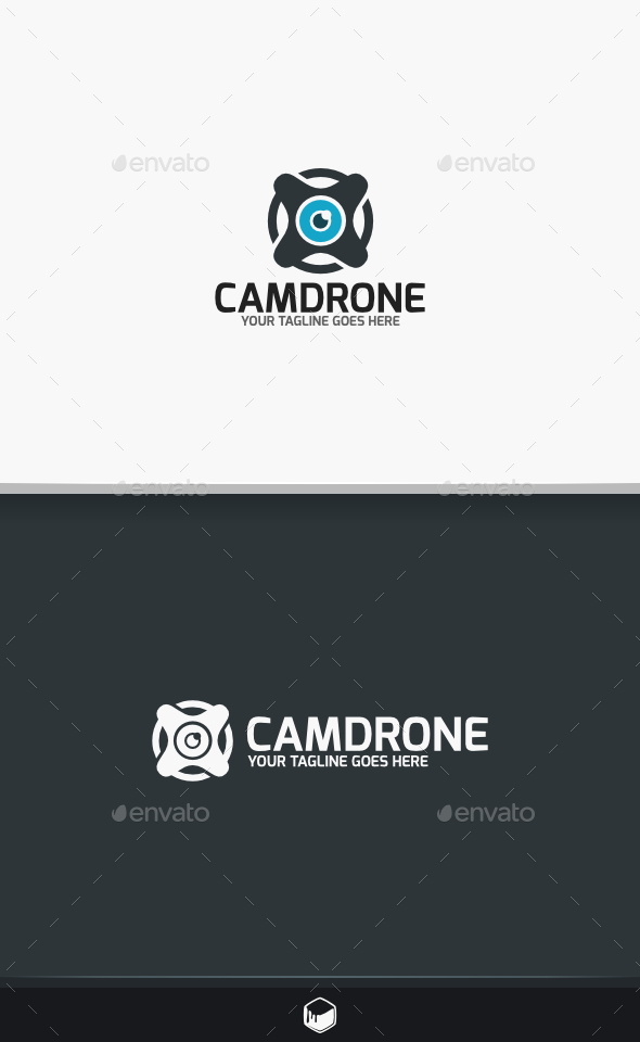 Camera Drone Logo - Objects Logo Templates