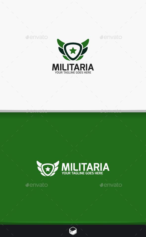 Militaria Logo - Vector Abstract
