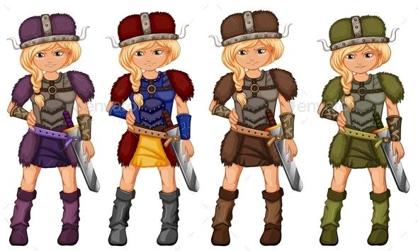 Vikings - People Characters