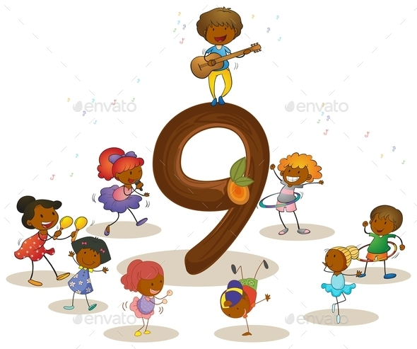 Number 9 - People Characters
