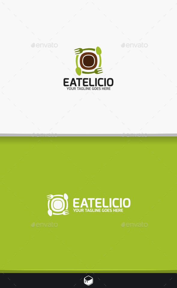 Eatelicio Logo - Food Logo Templates