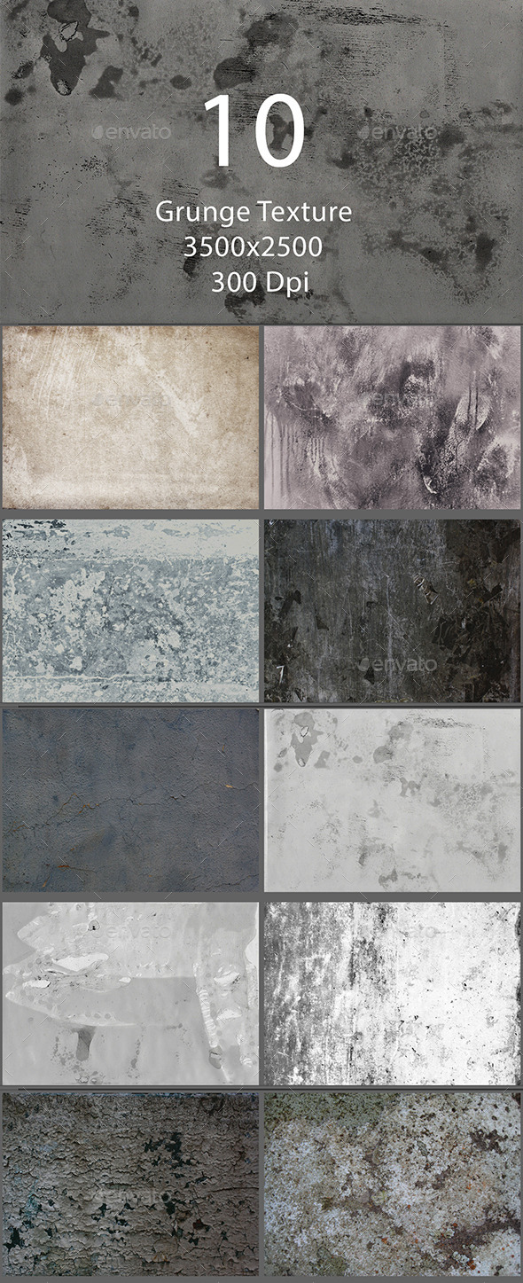 10 Grunge Texture - Textures