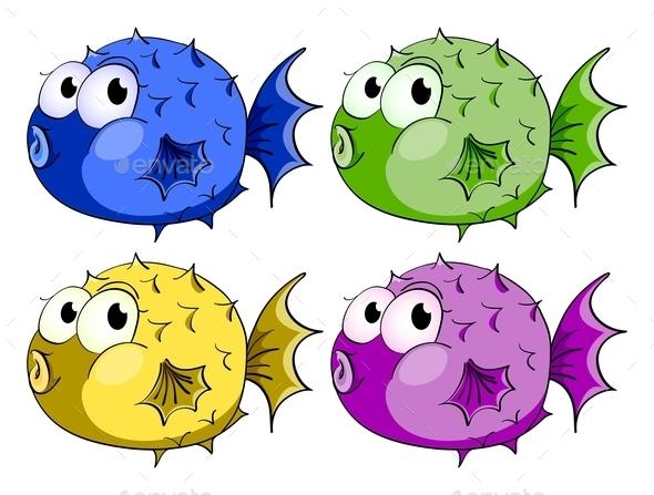 Bubble Fish - Animals Characters