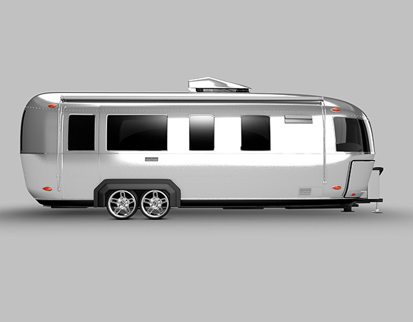 airstream camper - 3DOcean Item for Sale