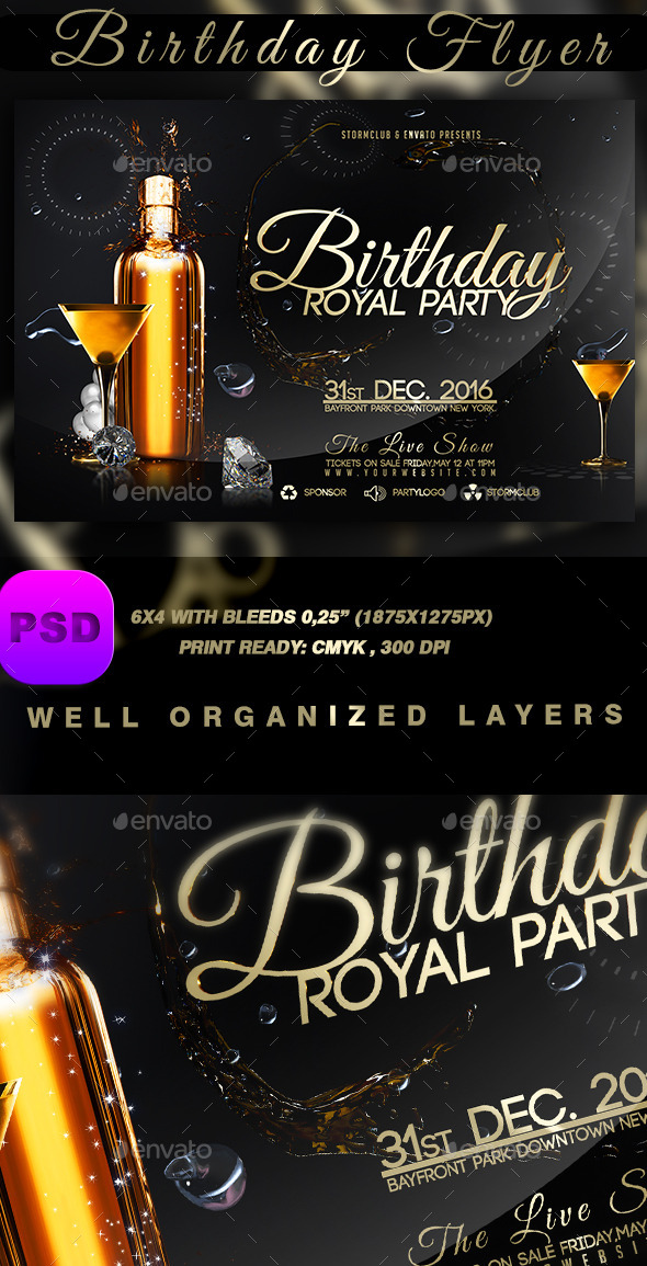 Birthday Flyer - Events Flyers