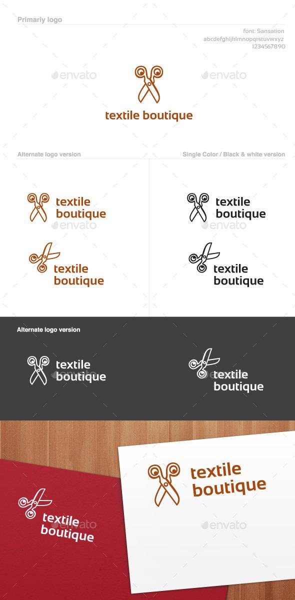 Textile Boutique Logo - Symbols Logo Templates
