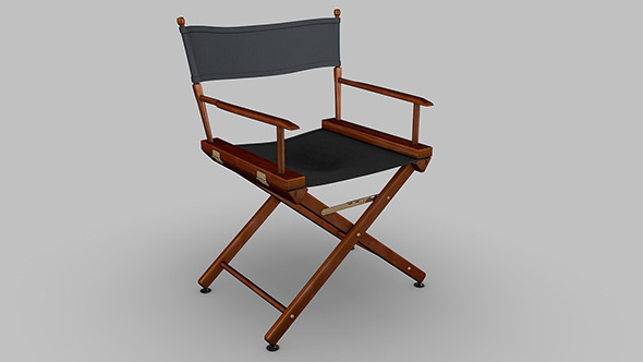Directors chair - 3DOcean Item for Sale