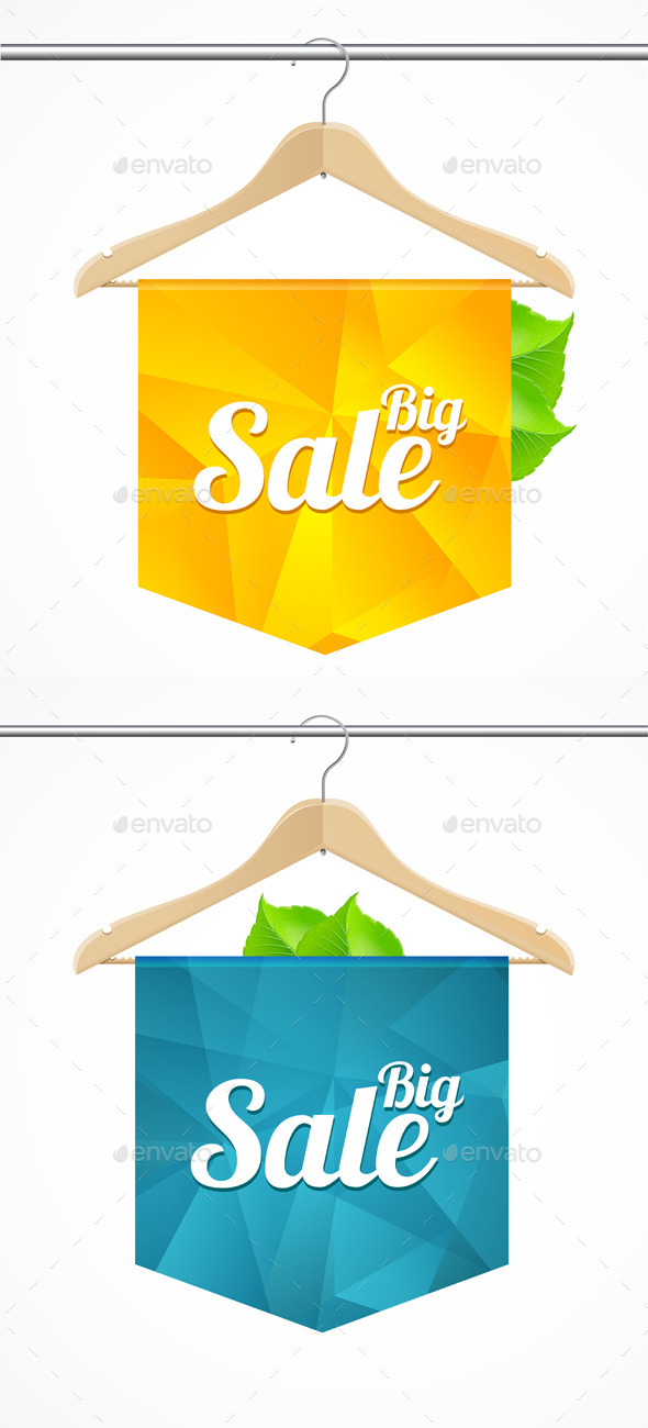 Sale Collections Template Clothes Hanger - Retail Commercial / Shopping