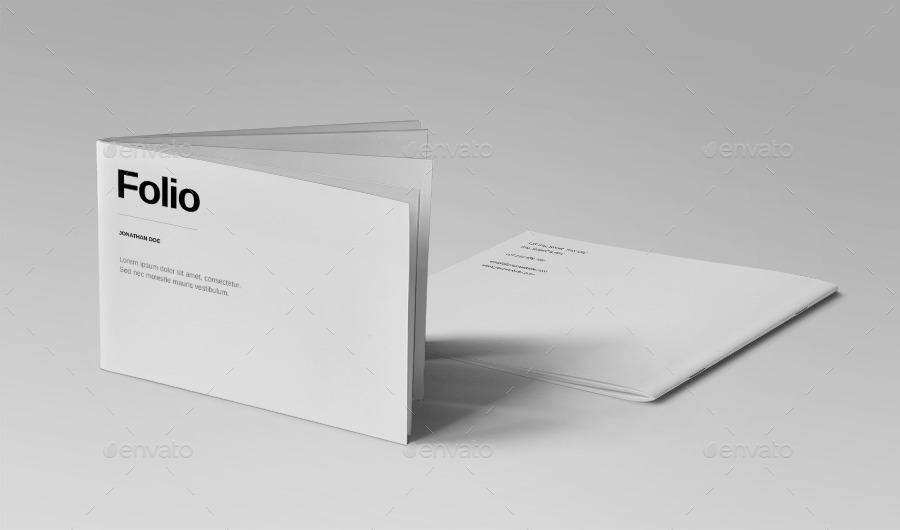 a5 portfolio template by meenom graphicriver