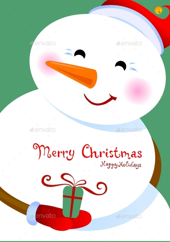 Merry Christmas Greetings - Christmas Seasons/Holidays