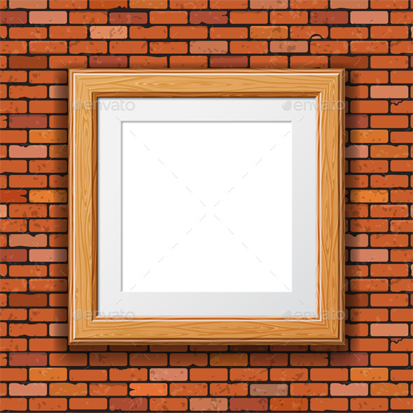 Wooden Frame - Backgrounds Decorative