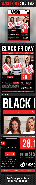 Black Friday Flyer V02 - Commerce Flyers