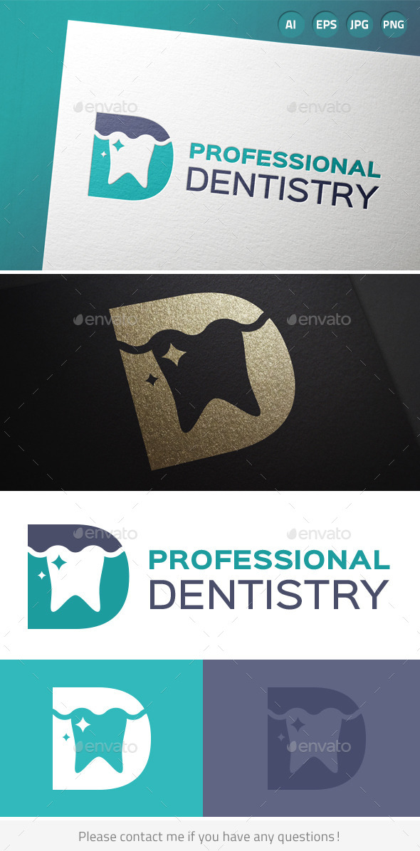 Professional Dentistry Logo - Humans Logo Templates