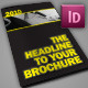 Dark A4 Brochure - InDesign - GraphicRiver Item for Sale