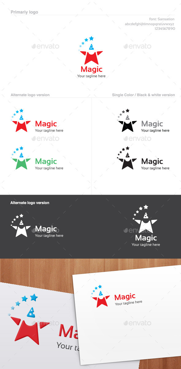 Magic Logo - Abstract Logo Templates
