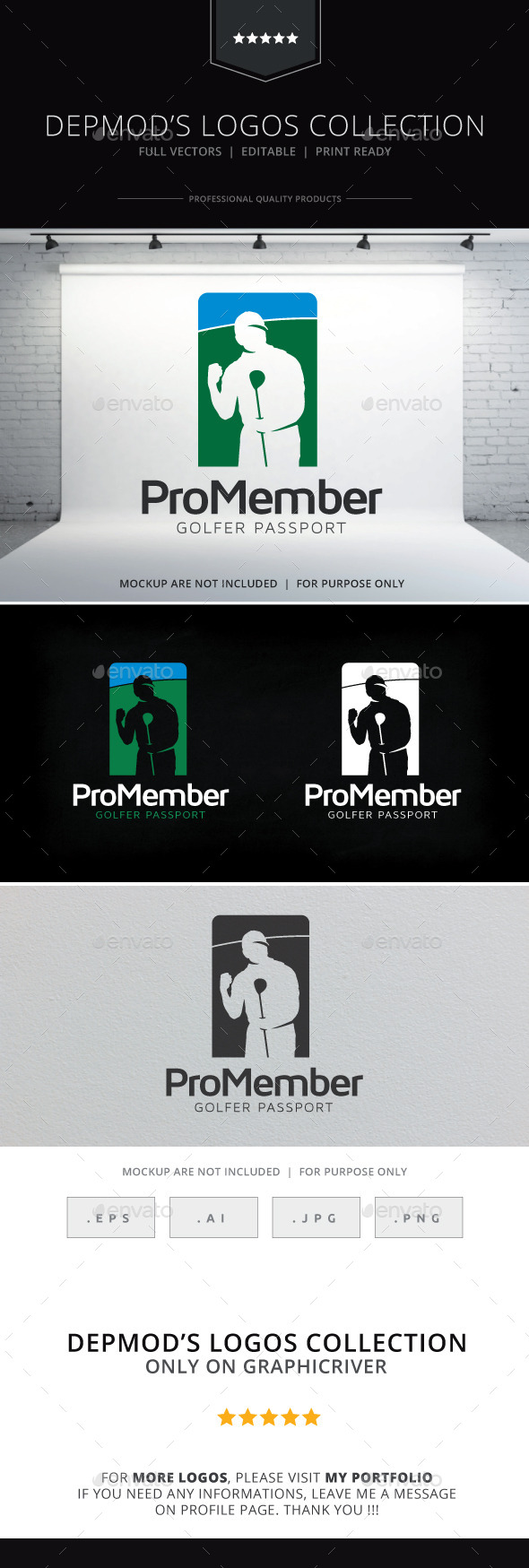 Pro Member Logo - Humans Logo Templates