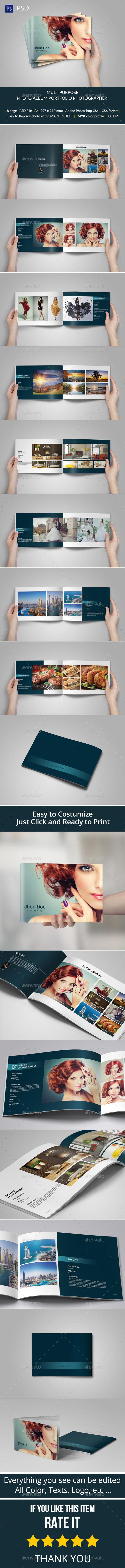 Multipurpose Brochure or Photo Album - Portfolio Brochures