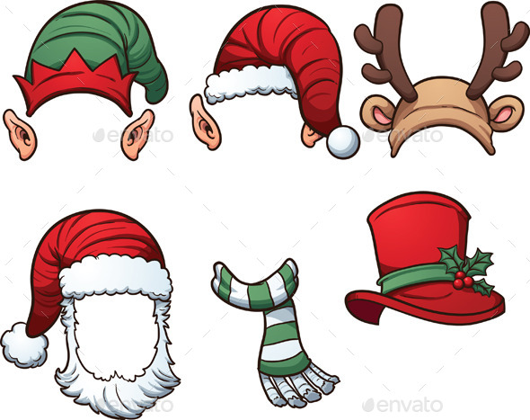Christmas Hats - Christmas Seasons/Holidays