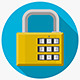 Flat Icon for Padlock - GraphicRiver Item for Sale