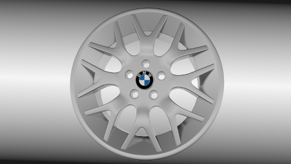 BMW rim 3 - 3DOcean Item for Sale