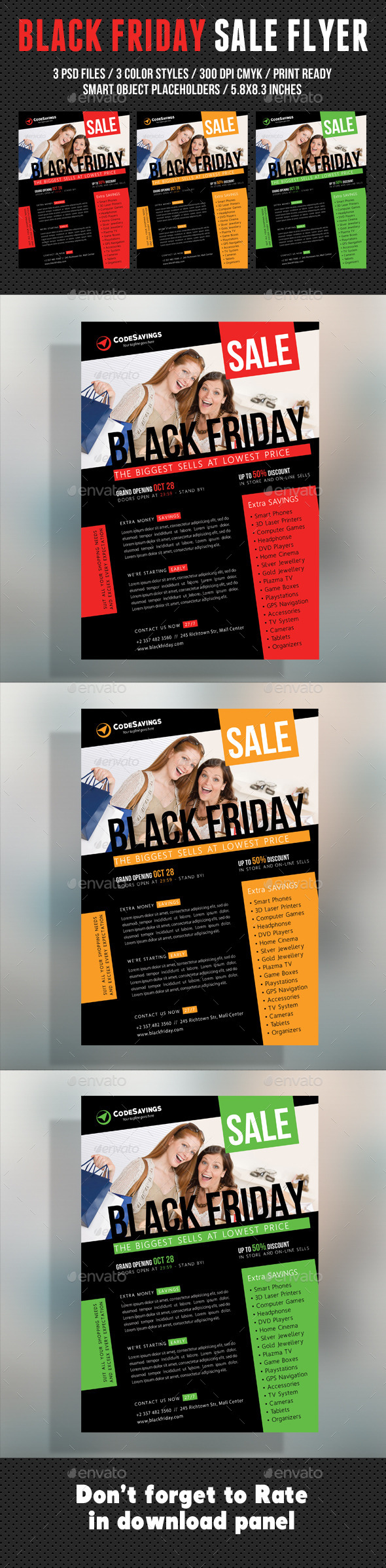 Black Friday Flyer V03 - Commerce Flyers