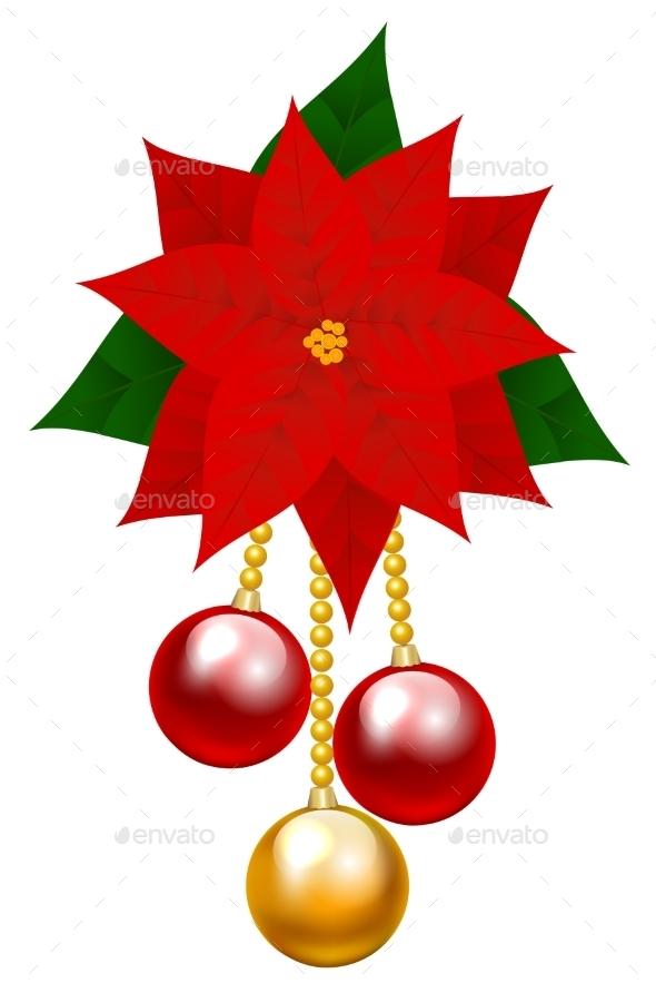 Poinsettia Flower - Christmas Seasons/Holidays