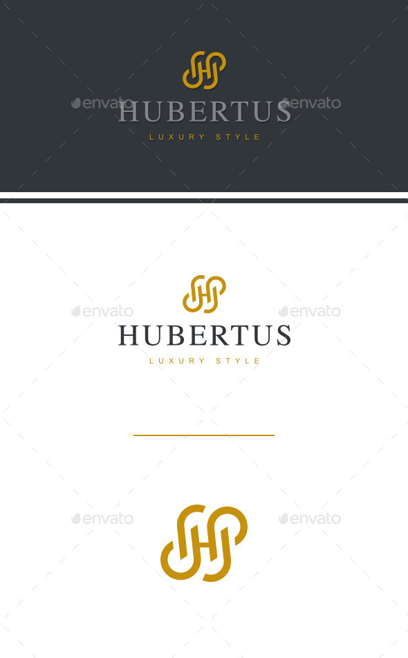 Letter H Logo Template - Letters Logo Templates