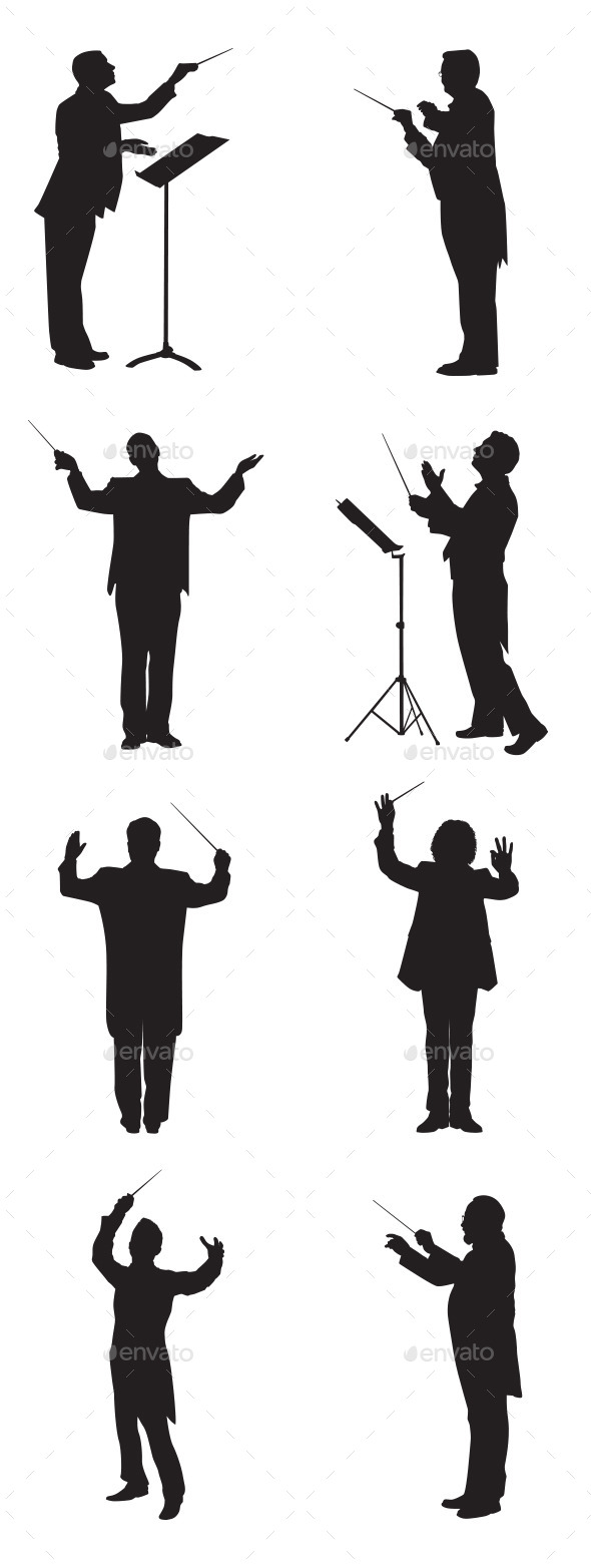 Music Conductor - People Characters