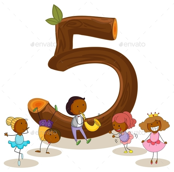 Number Five - People Characters