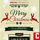 Vintage Christmas Flyer - GraphicRiver Item for Sale