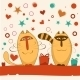 Valentine Day Cats - GraphicRiver Item for Sale