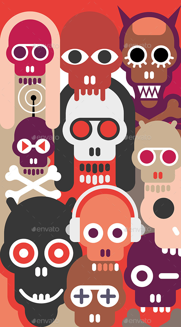 The Skulls  - Monsters Characters