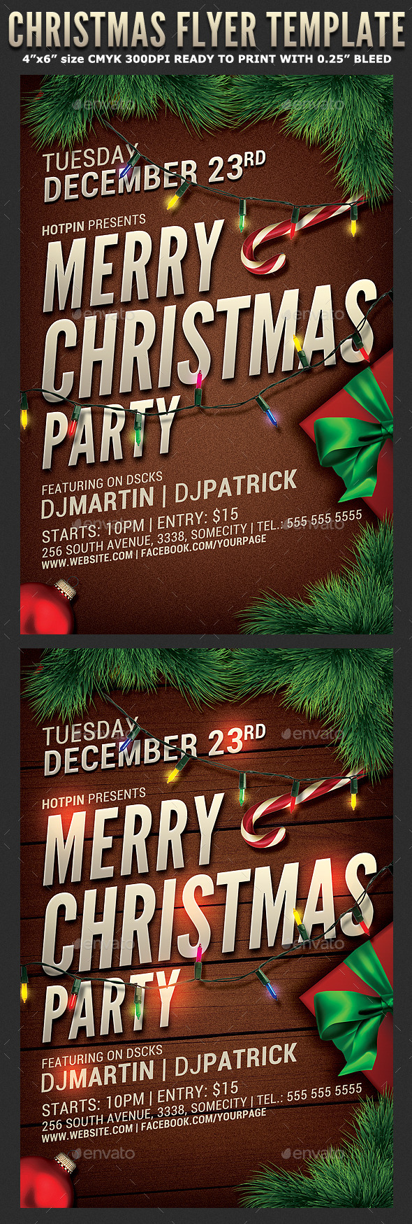 Christmas Event/Party Flyer - Holidays Events