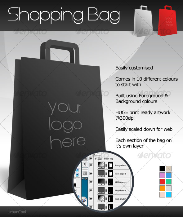 Customisable Shopping Bag - Miscellaneous Packaging