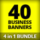 4 in 1 Bundle - Premium Business Web Banners - GraphicRiver Item for Sale