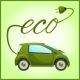 Electric Car with Eco Design - GraphicRiver Item for Sale