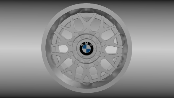 BMW rim 5 - 3DOcean Item for Sale