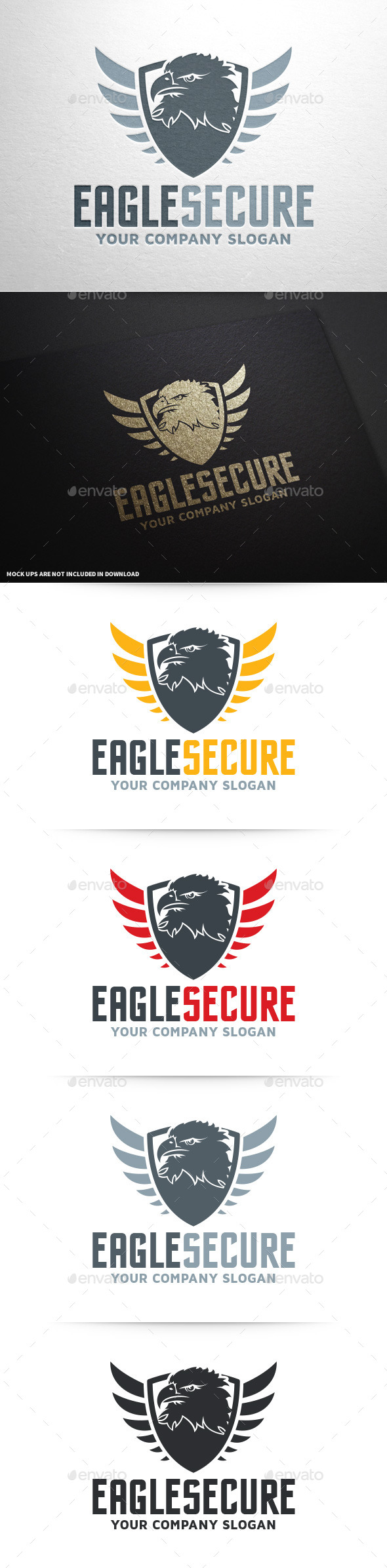 Eagle Security Logo Template - Animals Logo Templates