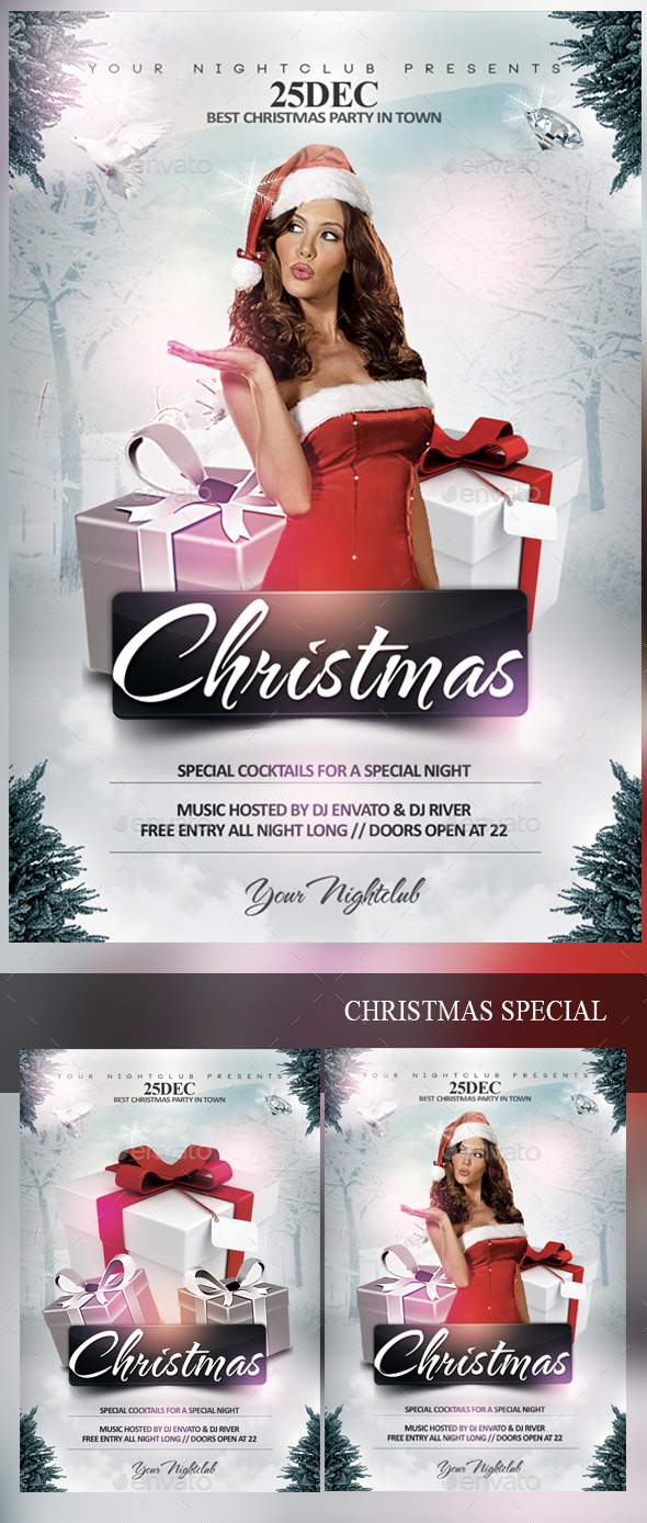 Christmas Special - Events Flyers
