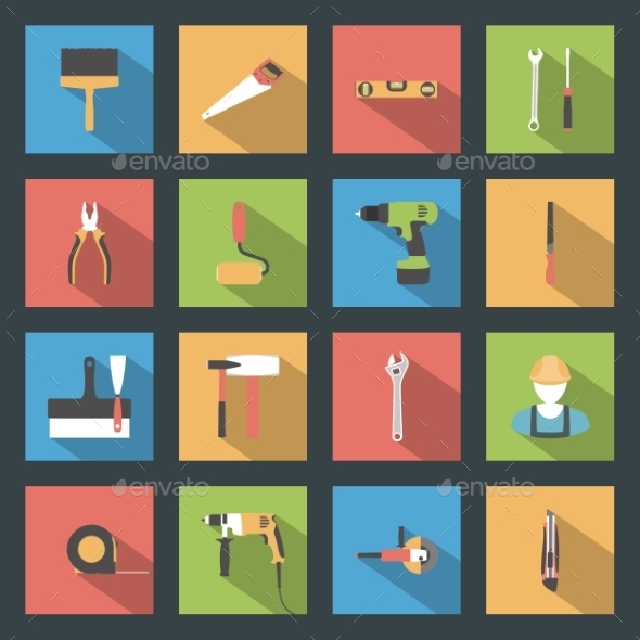 Construction Icons - Miscellaneous Conceptual