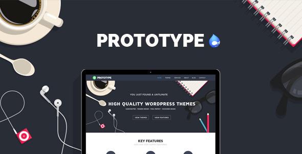 Prototype – Flat Drupal Theme