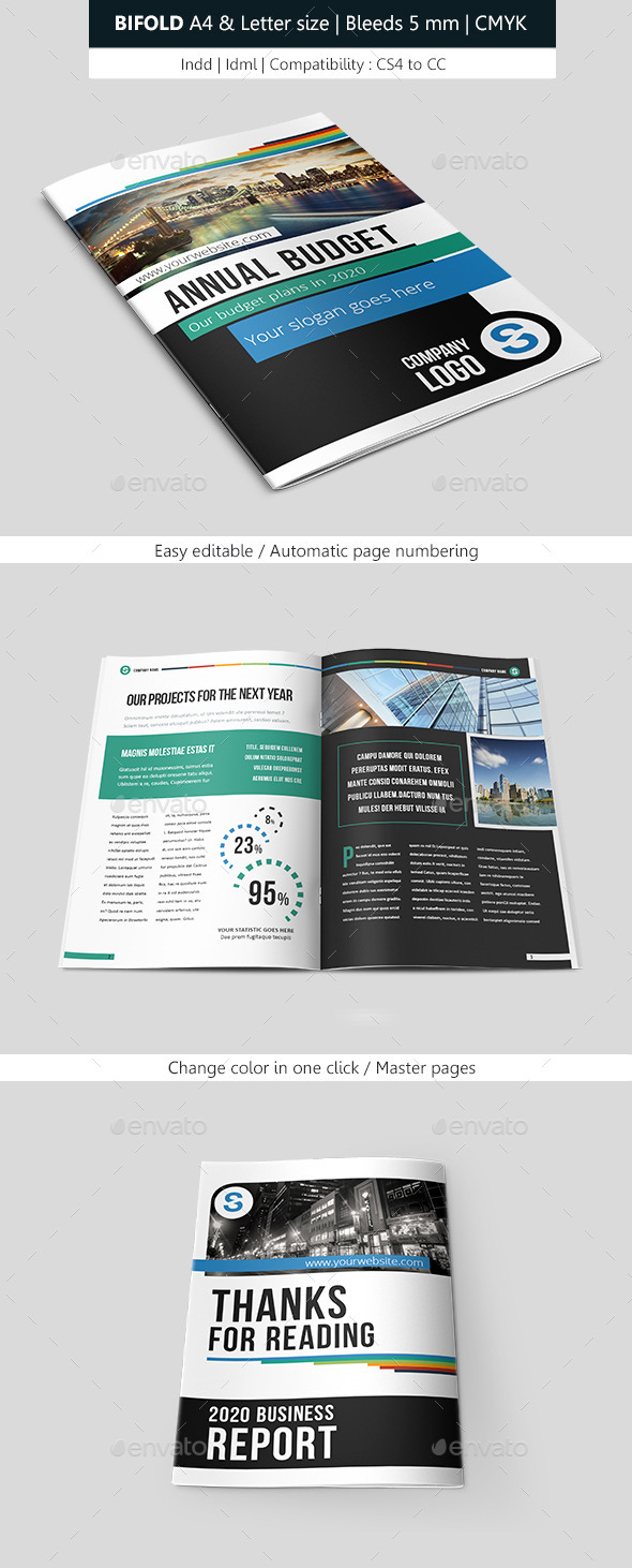 Business Brochure Template Design - Corporate Brochures
