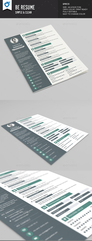 Be Resume - Resumes Stationery