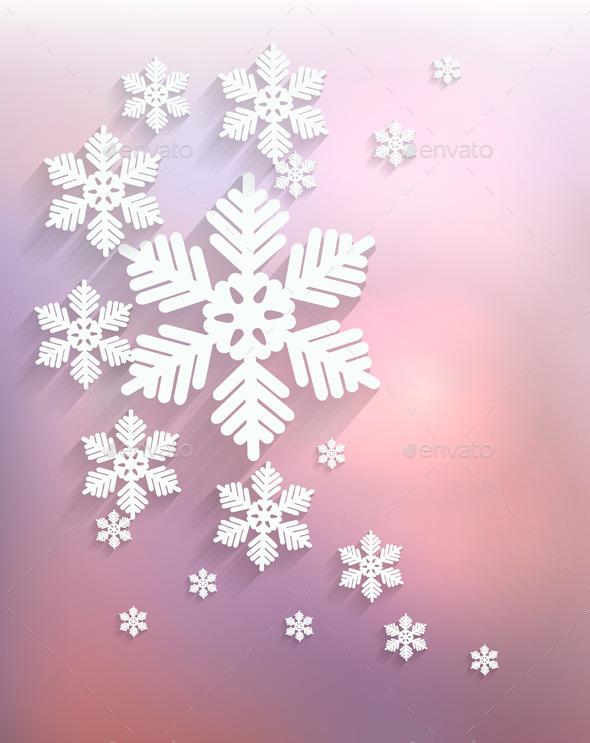 Christmas Snowflake  - Christmas Seasons/Holidays